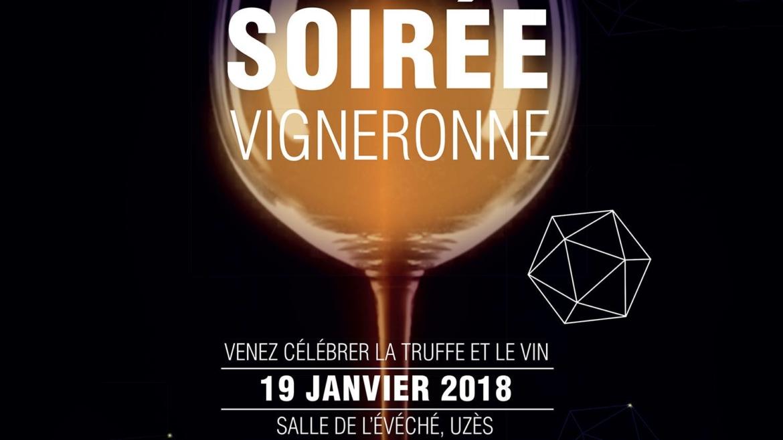 Soirée Vigneronne : Vendredi 19 janvier 2018